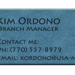 kim ordono branch manager info